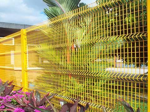 3D kerítés